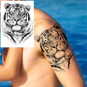 tatouage tigre père