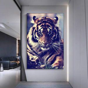 poster tigre Féroce