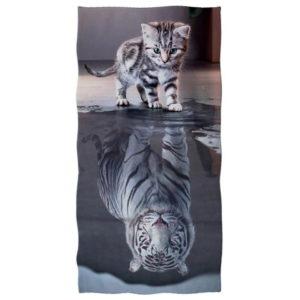 serviette tigre Bête qui Sommeil