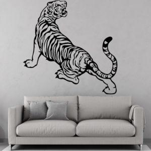 stickers tigre Sauvage