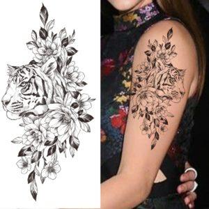 tatouage tigre Fleurie