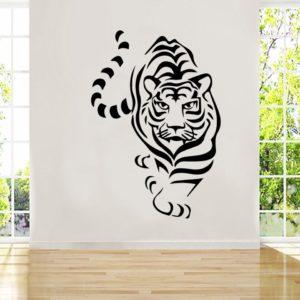 stickers tigre Marche Sauvage