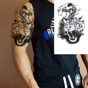 tatouage tigre Féroce Fashion