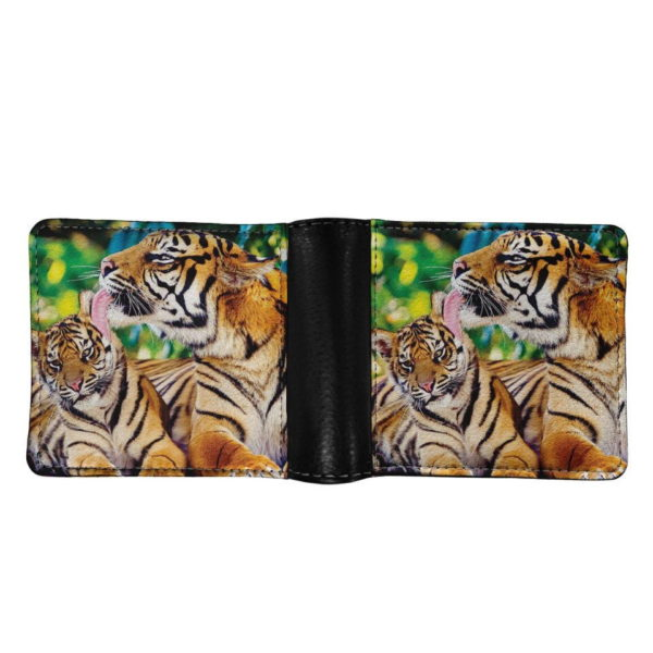 portefeuille tigre Félin Maternel