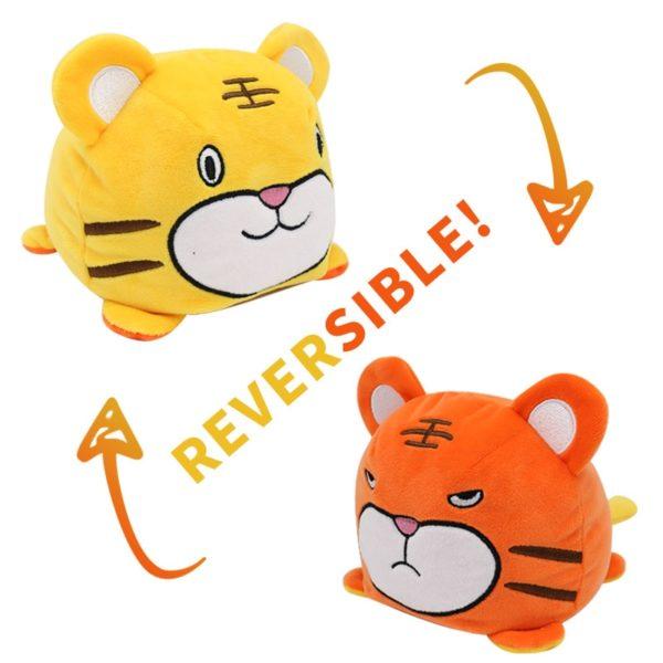 Peluche Tigre Double Fauve