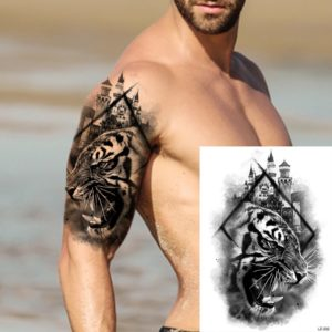tatouage tigre Cité