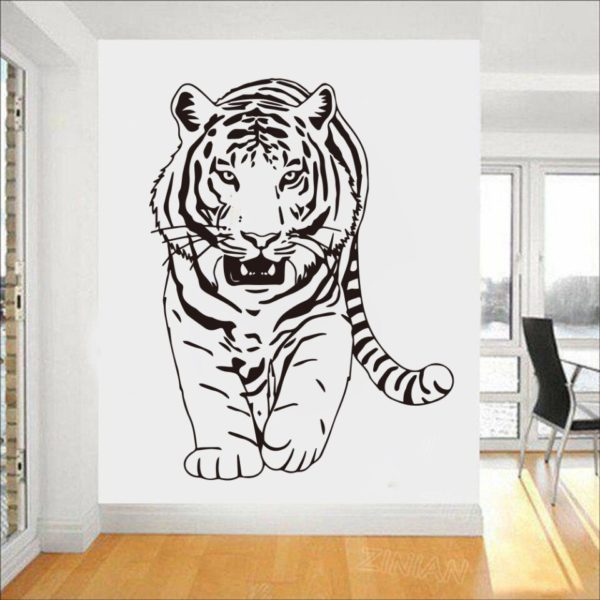 stickers tigre Gros Félin