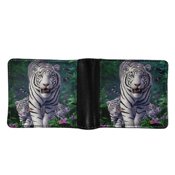 portefeuille tigre Bête Blanche