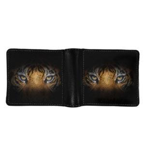portefeuille tigre Regard Bestial