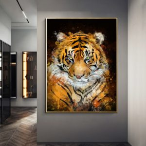 poster tigre Peinture