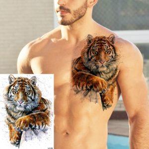 tatouage tigre Gros Fauve