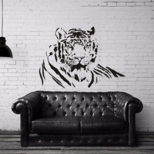 stickers tigre portrait