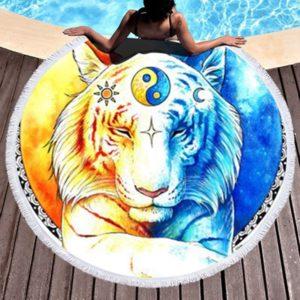 serviette tigre Ancestral