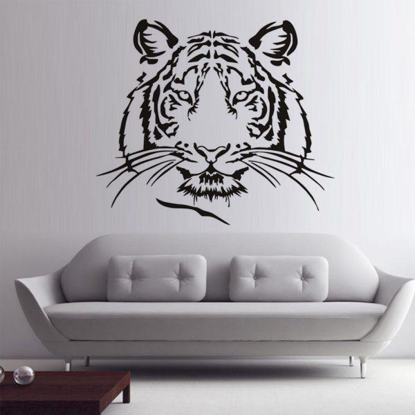 stickers tigre Head Animal