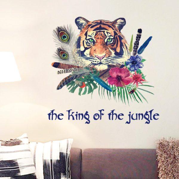 stickers tigre Tropical