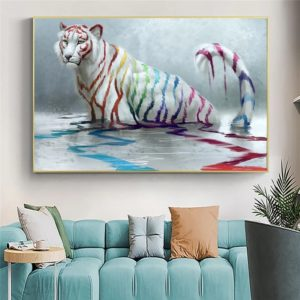 poster tigre Artistique