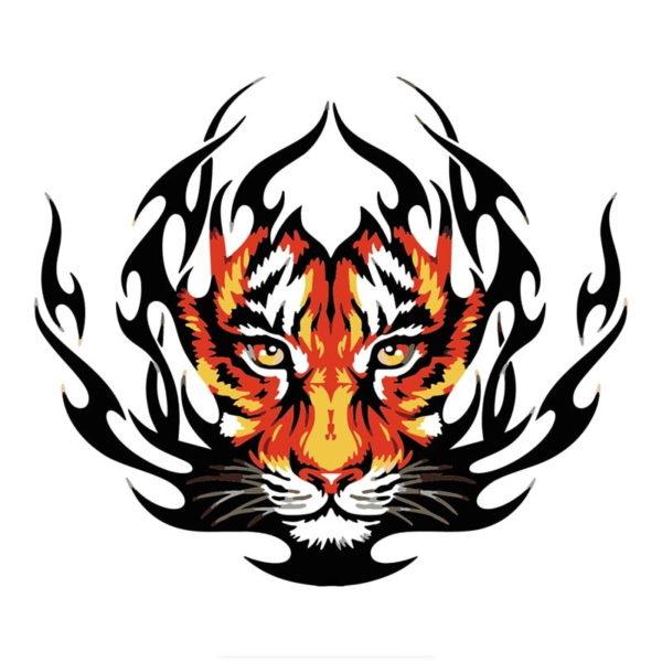 stickers tigre Fire