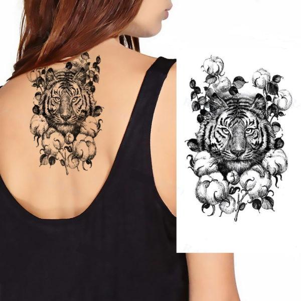tatouage tigre fantaisie