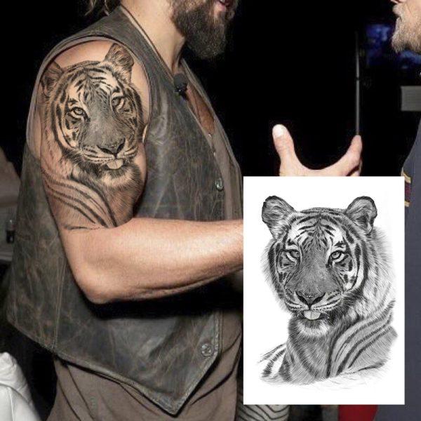 tatouage tigre Doux Félin