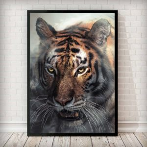 poster tigre Sauvage