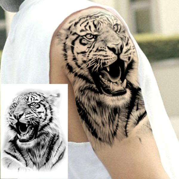 tatouage tigre Bestial