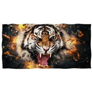 serviette tigre Bestial