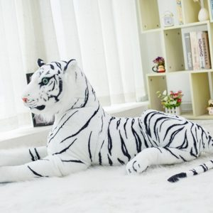 Peluche Tigre Bengale Blanc