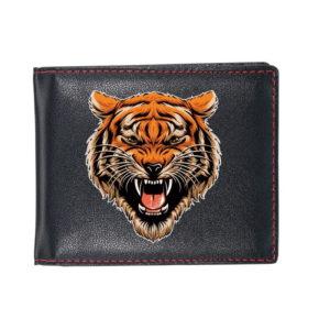 portefeuille tigre Fauve Féroce