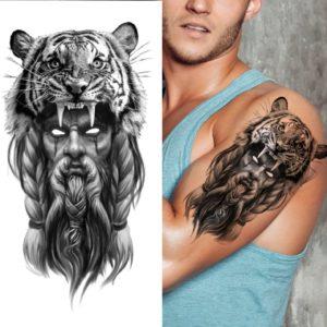tatouage tigre Peau Fauve