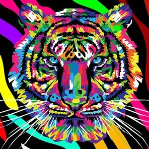 Puzzle Tigre Arlequin
