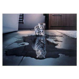 Puzzle Tigre Bête Qui Sommeil