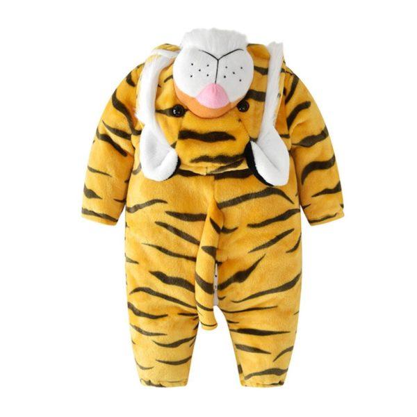 Déguisement Tigre Bébé Félin dos