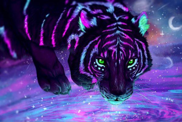 Puzzle Tigre D'un Autre Monde