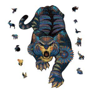Puzzle Tigre Antique Fauve