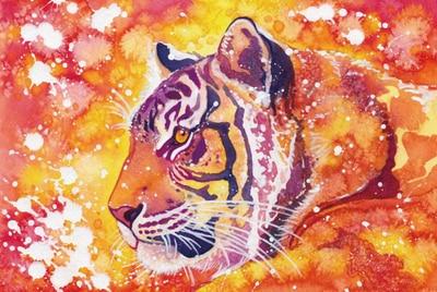 Puzzle Tigre Ardent