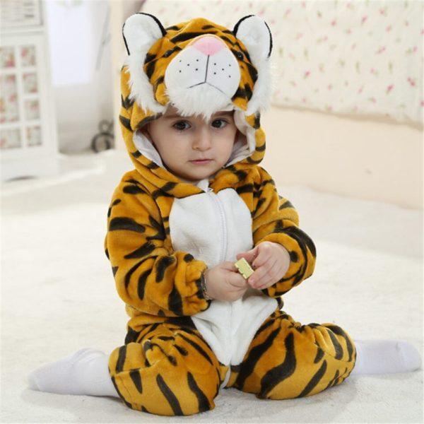 Déguisement Tigre Bébé Félin mannequin