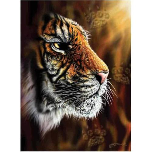Puzzle Tigre Profil Sauvage