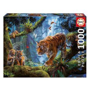 Puzzle Tigre Jungle