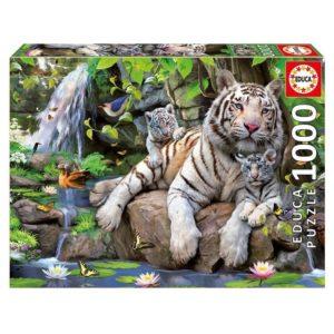 Puzzle Tigre Rivière Jungle