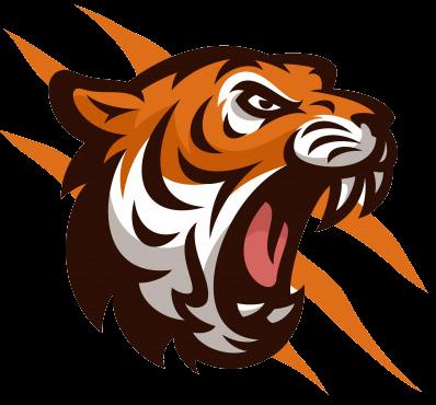 t-shirt tigre féroce