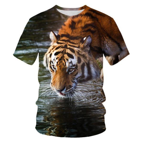 T-Shirt Tigre S'abreuve
