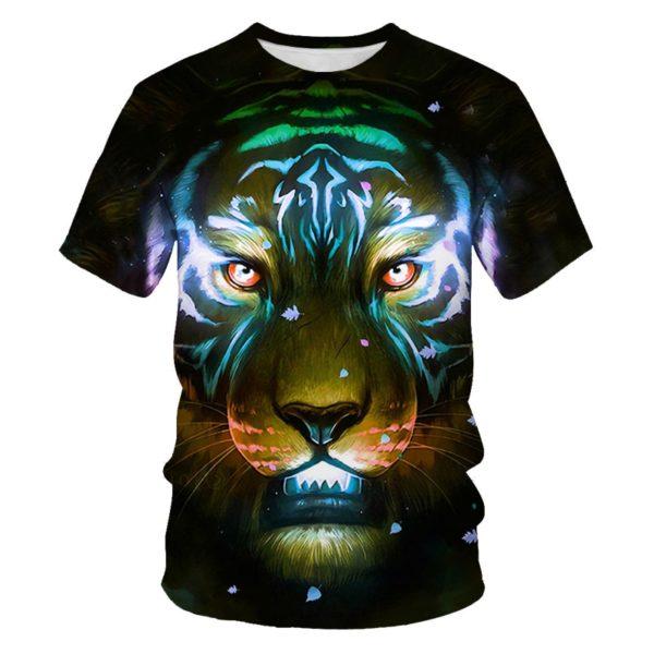 t-shirt tigre Prédateur Astral