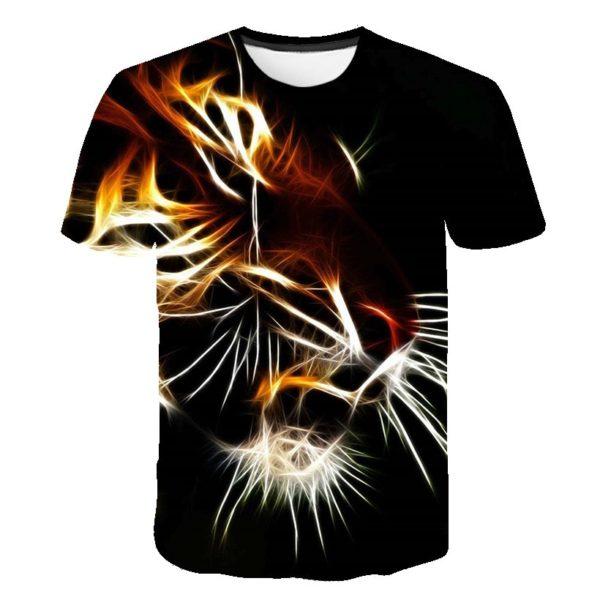 T-Shirt Tigre Gueule Lumineuse