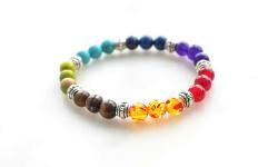 bracelet pierres précieuses