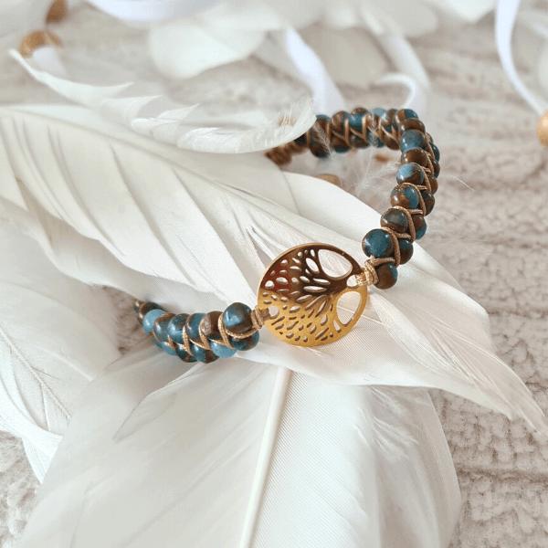arbre de vie bracelet or