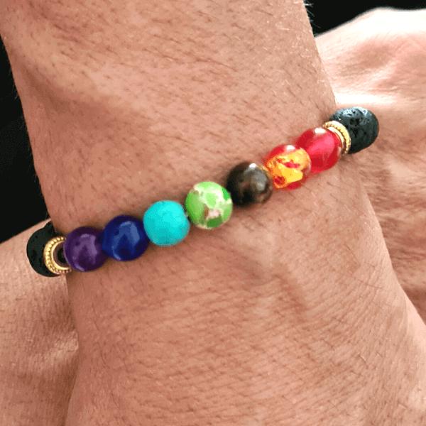 bracelet homme 7 chakras