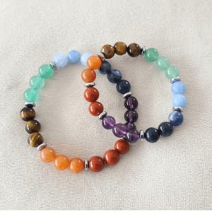 bracelet pierres 100% naturelles