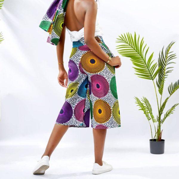 Pantalon Africain Larges mi long