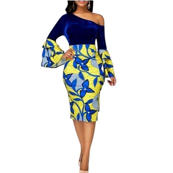 Robe Africaine mode Kitenge