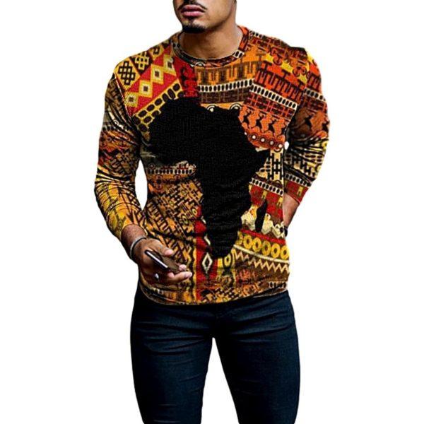 T-Shirt African Retro- laboutiqueduwax.fr